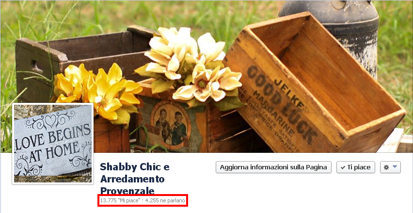 Advertising arredamento provenzale for Shabby chic e arredamento provenzale