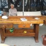 tavolo da lavoro mercatino isle sur la sorgue