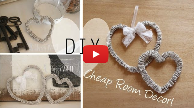 Video tutorial creare delle decorazioni fai da te in for Decorazioni shabby chic fai da te