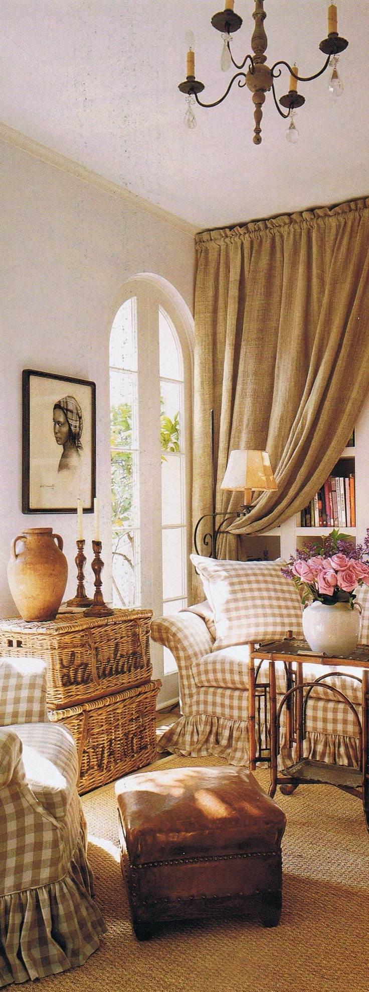 Le più belle foto con tessuti a quadretti in stile country e ...