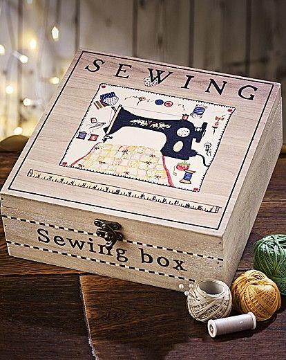 cucito provenzale cucine : ... una scatola da cucito in stile Shabby Chic - Arredamento Provenzale
