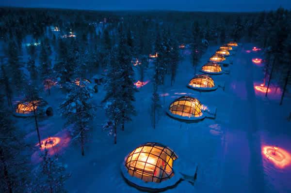 Kakslautten, Finlandia