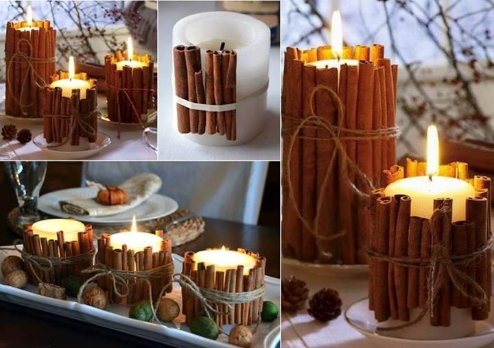 Amato Idee originali per decorare il vostro Natale con la cannella  GC54