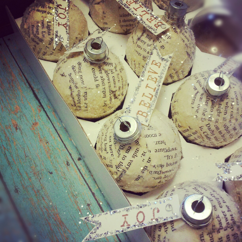 abbastanza 6 modi per trasformare le vecchie palline di Natale per il vostro  TL66