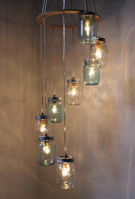 15 idee shabby chic per riutilizzare vecchi barattoli in vetro ...