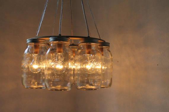 15 idee Shabby Chic per riutilizzare vecchi barattoli in vetro - Arredamento Provenzale