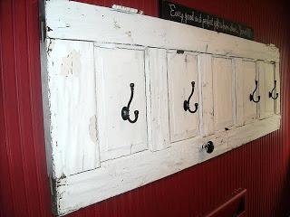 10 idee per riutilizzare vecchie porte in stile shabby chic arredamento provenzale - Porte stile shabby chic ...