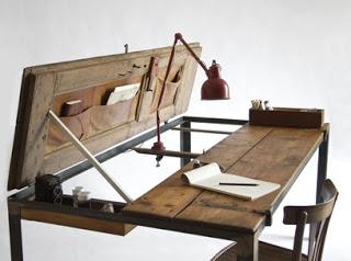 Tavolo Da Lavoro Per Moto : Idee per riutilizzare vecchie porte in stile shabby chic