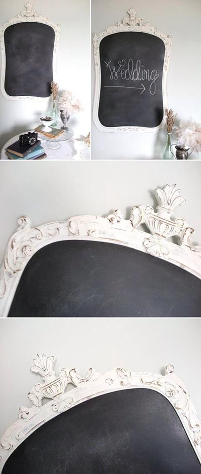 7 idee per riutilizzare vecchi specchi in stile shabby for Specchio shabby