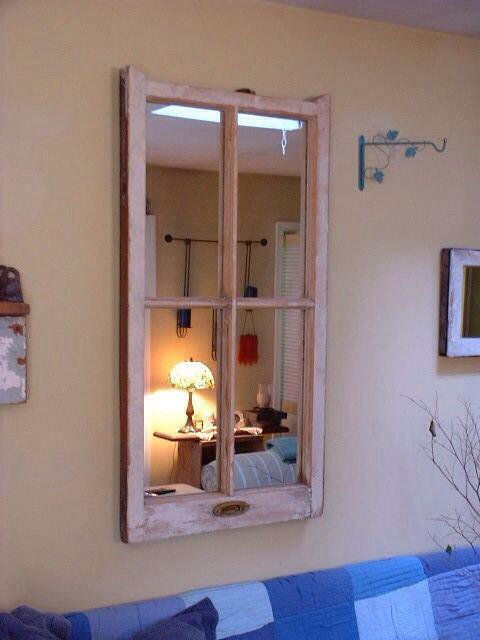 7 idee per riutilizzare vecchi specchi in stile Shabby ...
