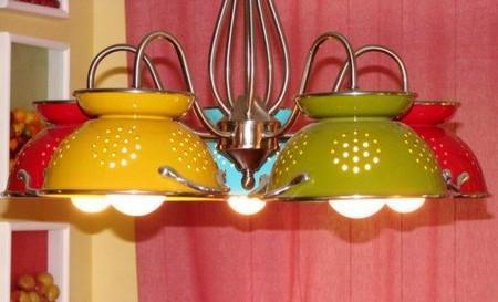 Casa moderna, roma italy: lampadari cucina fai da te