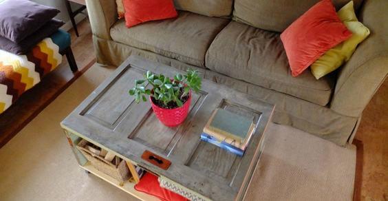 Come Creare Un Tavolino Da Salotto.8 Idee Per Tavolini Da Caffe Shabby Chic Fatti Con Materiali