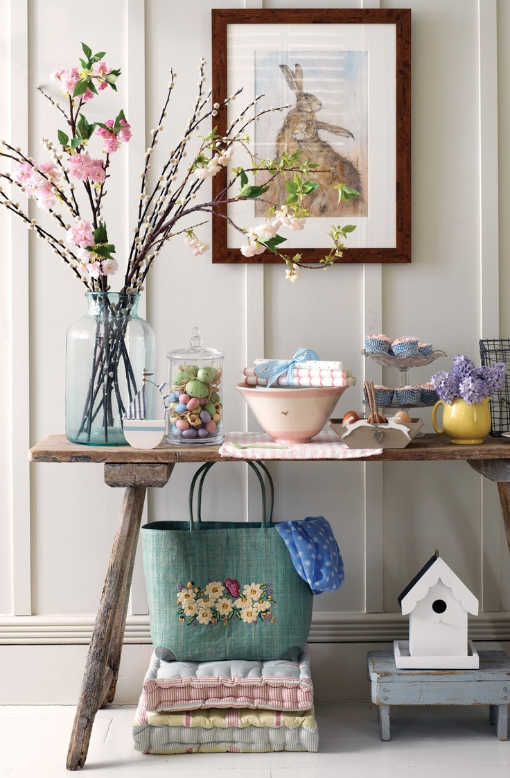 11 idee e decorazioni per la tua pasqua in stile shabby - Idee decoro casa ...