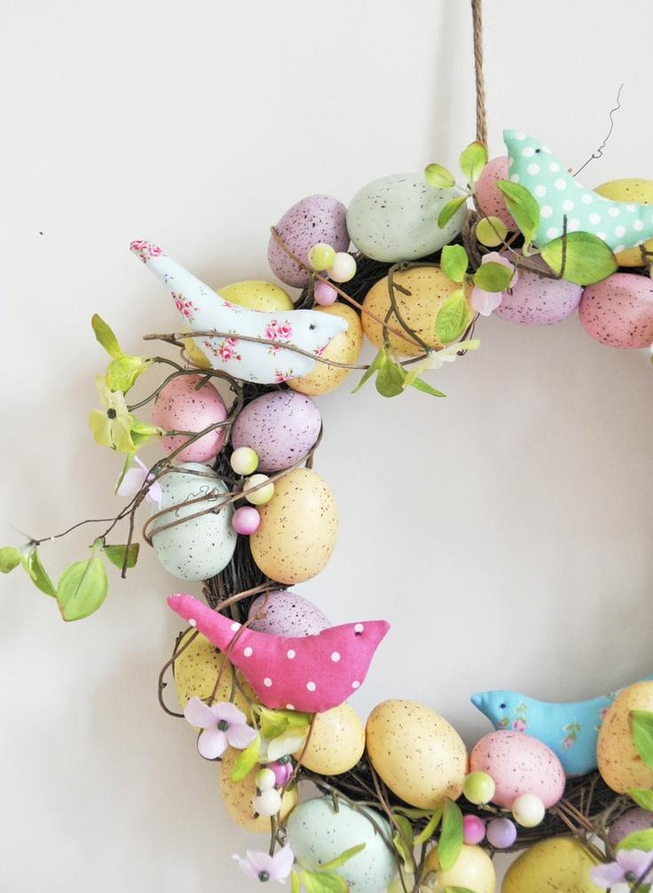Populaire 11 idee e decorazioni per la tua Pasqua in stile Shabby Chic  YG28