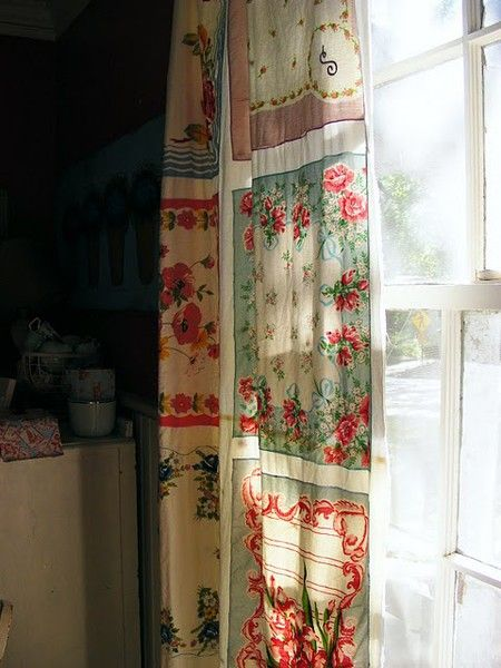 10 idee per riutilizzare fazzoletti vintage nell'arredamento ...