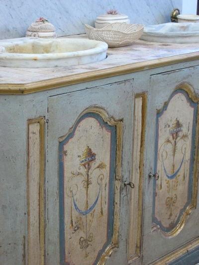 idee per personalizzare il bagno in stile Shabby Chic, Provenzale o ...
