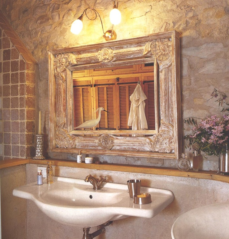 8 idee per personalizzare il bagno in stile shabby chic provenzale o country arredamento - Accessori x il bagno ...