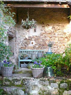 5 fantasiosi dettagli per il giardino in stile shabby chic - Giardino provenzale ...