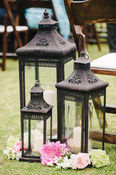 7 idee creative per una lanterna in stile shabby chic for Lanterne da arredo
