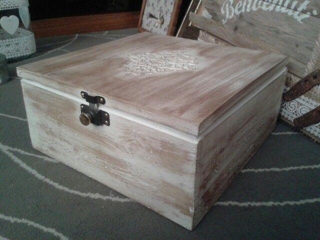 Molto 7 idee per una scatola in stile Shabby Chic, Provenzale o Country  FF16
