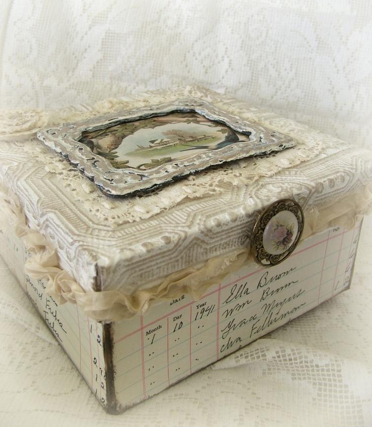 Conosciuto 7 idee per una scatola in stile Shabby Chic, Provenzale o Country  SZ66