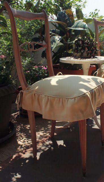 7 idee creative per le vostre sedie in stile provenzale for Cuscini per sedie shabby chic