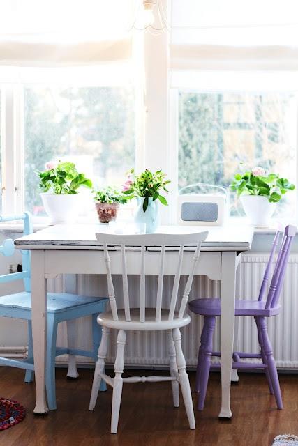 7 idee creative per le vostre sedie in stile Provenzale, Shabby Chic ...