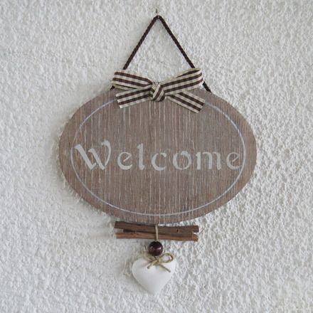 7 idee creative per una targa in stile shabby chic - Porte country chic ...
