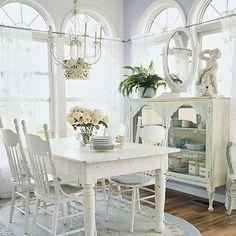 Tavolo Bianco Stile Provenzale.5 Idee Per Reinventare Il Tavolo In Stile Shabby Chic Provenzale
