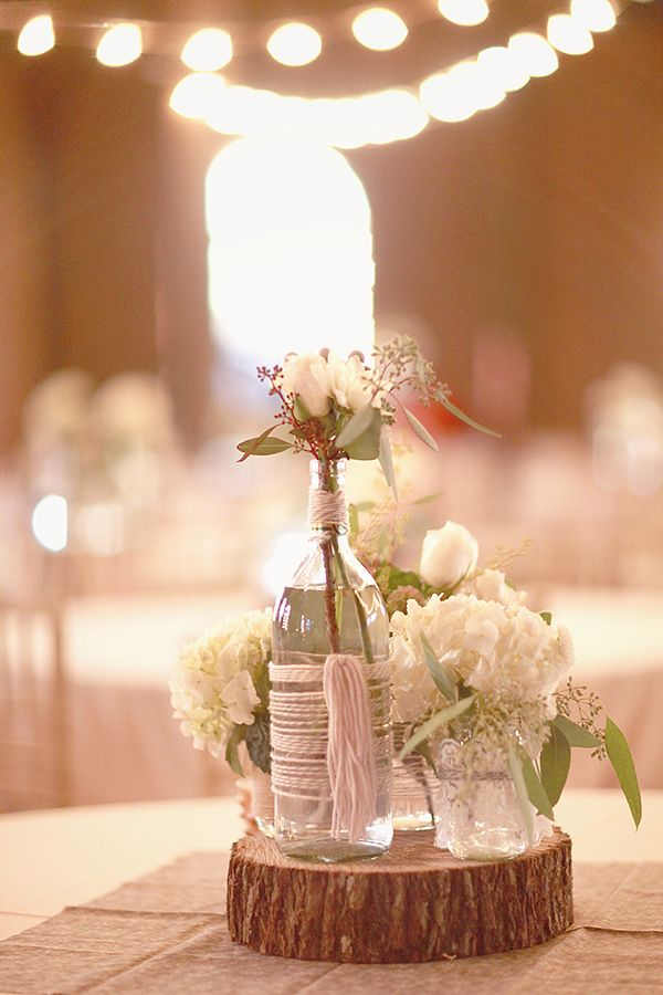 Centrotavola Matrimonio Country Chic : Idee per allestire la tavola del matrimonio in stile shabby chic