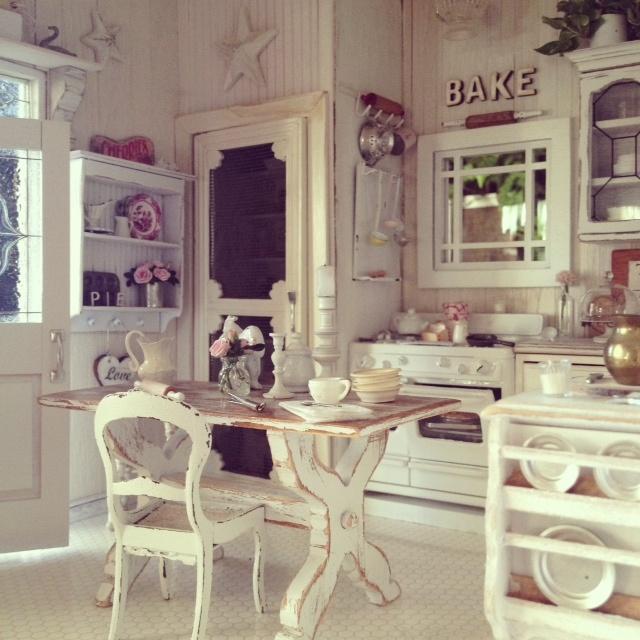 7 idee estive e creative per una cucina Shabby Chic, Provenzale o ...