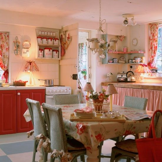 Matrimonio Country Chic Kitchen : Idee estive e creative per una cucina shabby chic
