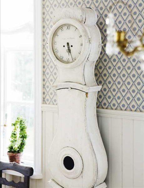 Matrimonio Tema Viaggi Vintage : Idee per un orologio in stile shabby chic provenzale o