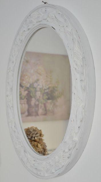 7 idee creative per uno specchio in stile shabby chic - Specchio ovale shabby chic ...