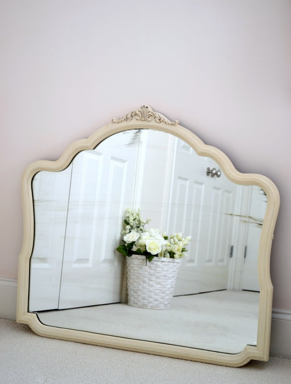 7 idee creative per uno specchio in stile shabby chic provenzale o country arredamento provenzale - Specchi pubblicitari vintage ...