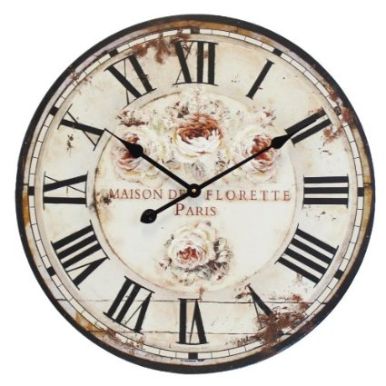 Orologio da parete design london 1879 shabby chic tinas for Orologio shabby chic