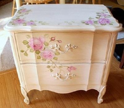 cassettiera-decorazioni-floreali