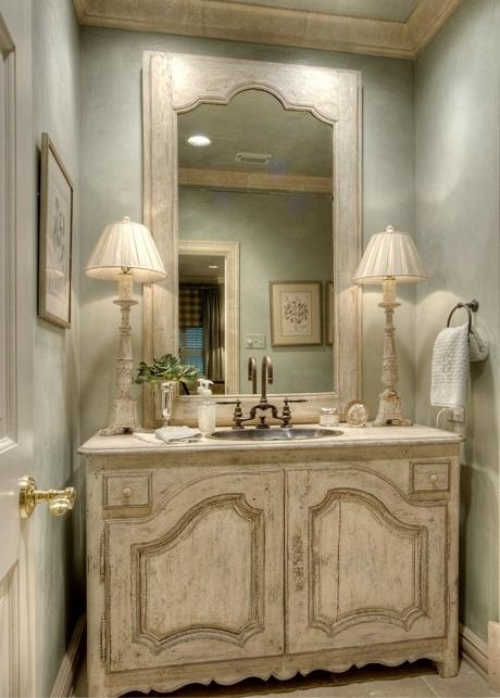 7 idee per un lavandino o lavabo shabby chic provenzale o for Arredamento provenzale roma