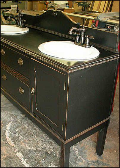 7 idee per un lavandino o lavabo Shabby Chic, Provenzale o Country ...