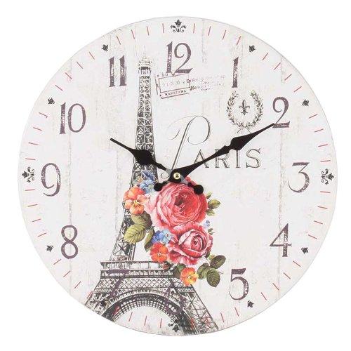 7 idee per un orologio da parete in stile shabby chic in - Orologi da parete shabby chic ...