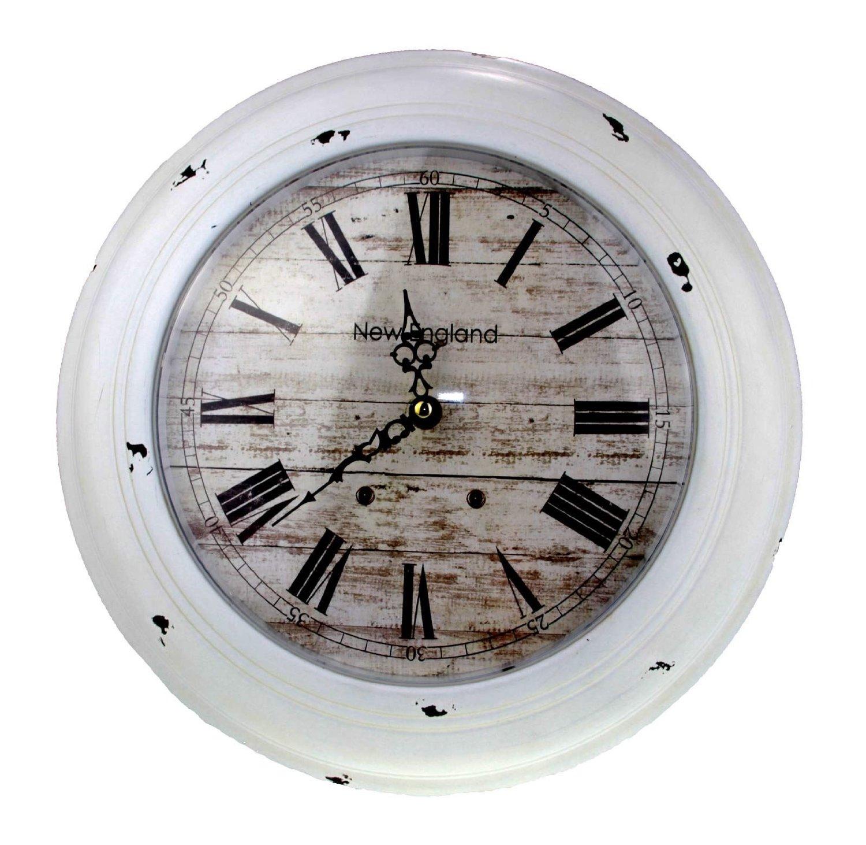 7 idee per un orologio da parete in stile shabby chic in for Case in stile new england