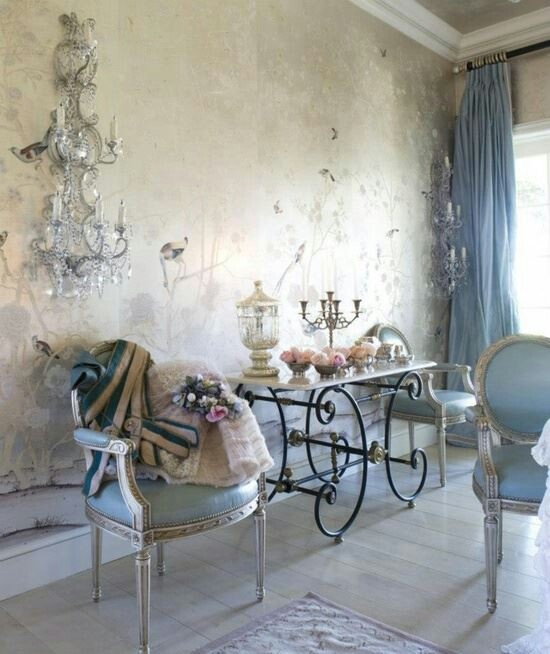 7 idee per un angolo dolci in stile shabby chic provenzale o country arredamento provenzale - Chic country house architecture with adorable interior design ...