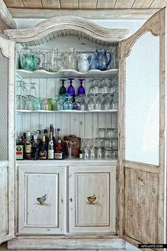 7 idee per arredare un bar in stile Shabby Chic, Provenzale o ...