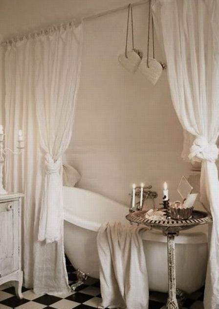7 idee per un bagno romantico in stile Shabby Chic, provenzale o country - Ar...