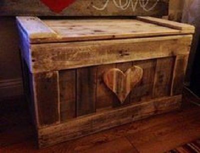 Diy pallet shoe rack storage unit and tv stand pallet furniture - 7 Idee Per La Tua Cassapanca In Stile Shabby Chic
