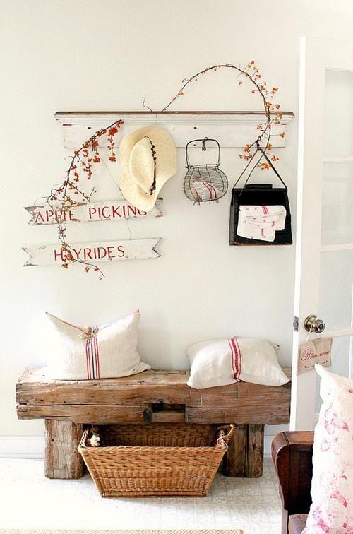 7 Idee Per Arredare L Ingresso Di Casa In Stile Shabby Chic Provenzale E Country Arredamento Provenzale