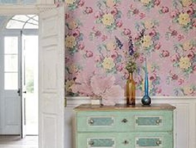 Pareti A Strisce Shabby : 7 idee per pareti in stile shabby chic provenzale o country