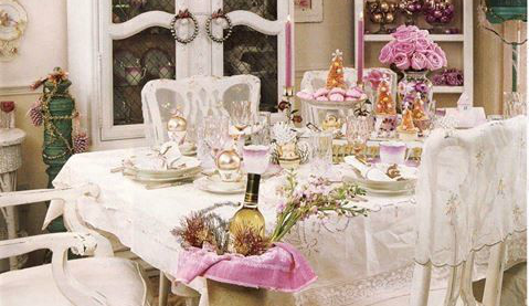 7 idee per la tua sala da pranzo in stile Shabby Chic ...