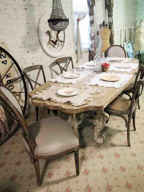 7 idee per la tua sala da pranzo in stile Shabby Chic, provenzale e country -...
