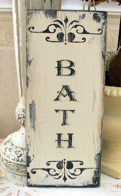 7 idee per decorare il bagno in stile shabby chic provenzale e country arredamento provenzale - Quadri per il bagno ...